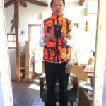 猟友会から支給されたオレンジ色のベストがダサいので『猪鹿庁』のハンティングベストを購入!