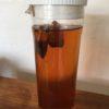 ハナヘナで染めた後の匂いは紅茶で消えるのか⁈