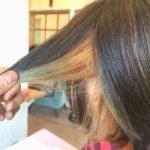 ヘナ&インディゴを使った2度染めを繰り返している髪をブリーチしてみた