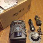 【動画あり】狩猟・防犯?のためにAmazonでトレイルカメラを購入