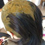 ハナヘナ ナチュラル単品で1年間染め続けた髪色