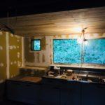 【和室・リフォーム・DIY】キッチンの天井を板張りに