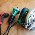 DIY・セルフリノベーションに安くて使える電動工具3つ!