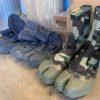 【狩猟準備】 スパイク付きの地下足袋を新調!